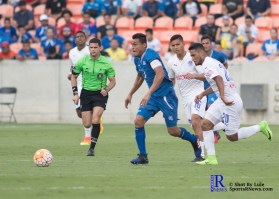 During a Friendly Match between The Salvadors National Team and Club Deportivo Olympia,Houston Tx ,March 26,2017 BBVA Compass Stadium
