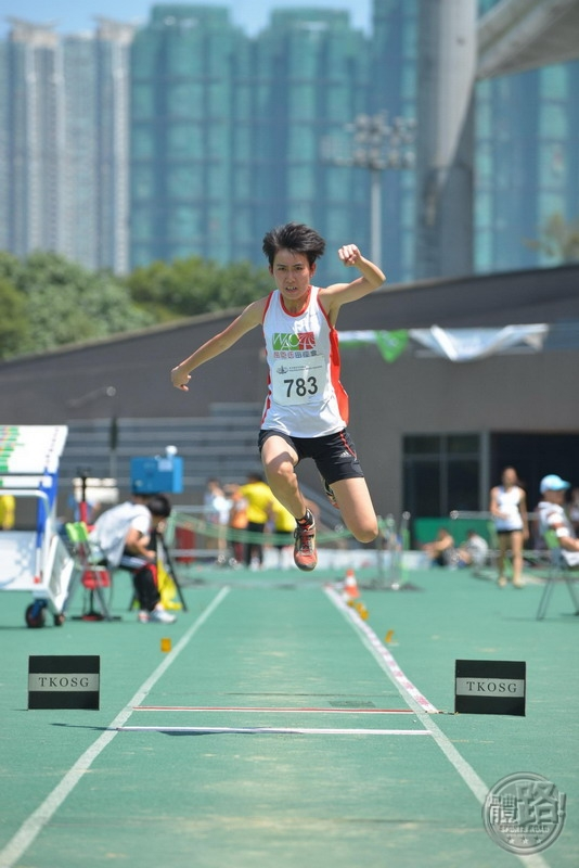 Women's Triple Jump Champion TSE Mang Chi