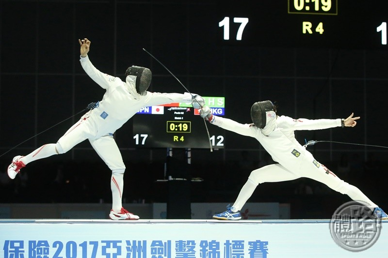 AFC2017_Fencing_MEN'S EPEE TEAM_BRONZE_FCW_6943
