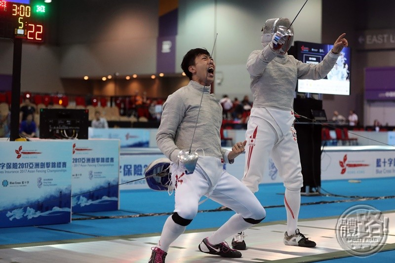 AFC2017_Fencing_MEN'S SABRE TEAM_R8_A86I7825