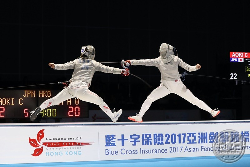 AFC2017_Fencing_WOMEN'S SABRE TEAM_BRONZE_A86I6131