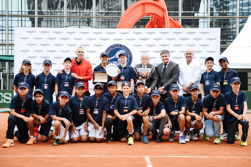 ñ Final ñ  Officials ñ  Andre Agassi  ñ La Defense ñ 2017/06/03