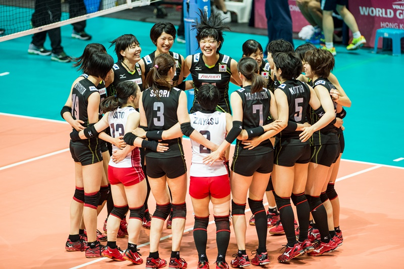 FIVB Volleyball World Grand Prix-HK 2015 on July 14-18th 2015 at Hong Kong Coliseum, China. Photo by Panda Man / Takumi Images
