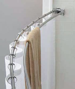 Shower Rods Curved
