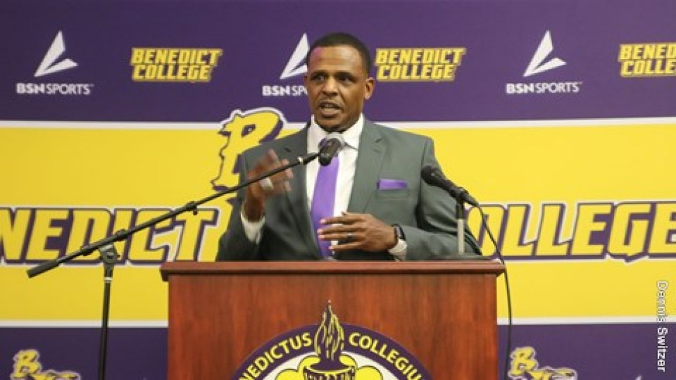 Benedict football starts anew with Chennis Berry (AUDIO ...