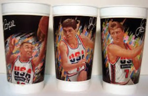 1992 Dream Team special edition cups from McDonalds