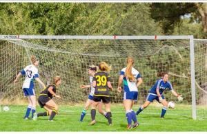 Placer United Girls Soccer coverage by SportStars Magazine