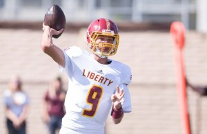 Liberty Football Junior Jay Butterfield