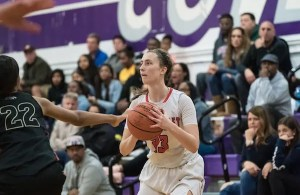 Erica Miller gave the Panthers a taste of their own medicine. The 5-foot-9 shooting guard sank six 3's and finished with 20 points as Carondelet basketball wins