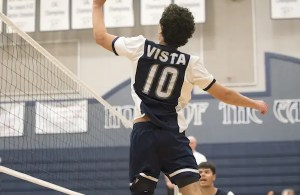 Vista del Lago volleyball, Adam Soriano