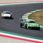 Jaden Conwright racing Porsche GT3 Cup in Italy