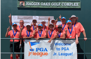 The San Ramon All-Stars (a co-ed team of junior golfers, ages 13 and under) won the Nor Cal PGA Jr. League Section Championship