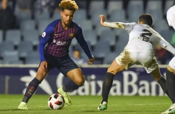 Training at La Masia, FC Barcelona's youth development facility is 18-year old Konrad de la Fuente the next big thing in US Soccer?