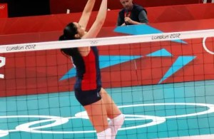 Olympian Volleyball player Lindsey Berg espouses one thing that she thinks all might agree on in the volleyball world. That there is a big possibility that a  shorter/smaller setter will make faster moves to the ball. But that wouldn't be a good enough reason to choose a shorter setter over a taller setter because efficient footwork and reading can be taught to setters of all sizes.