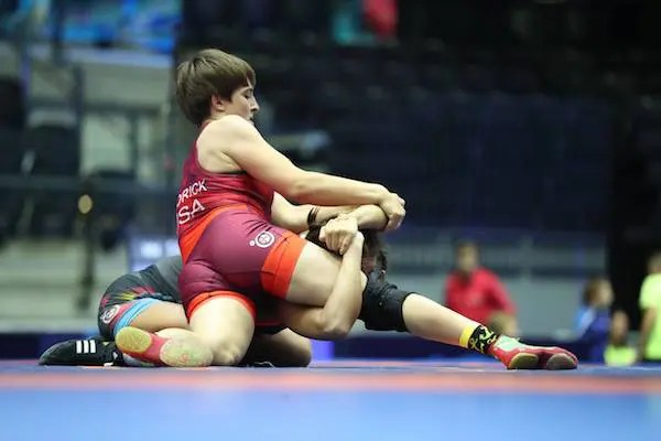 Alex Hedrick, Girls Wrestling Big 10