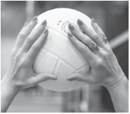 Lindsey Berg, team USA volleyball setter talks hand positioning for setters