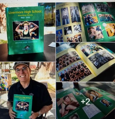 Al Fontes, the California Wrestler new book on Livermore high school wrestling