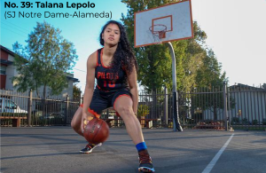 Bay Area 75 Rankings, Telana Lepolo, St. Joseph Notre Dame, Basketball
