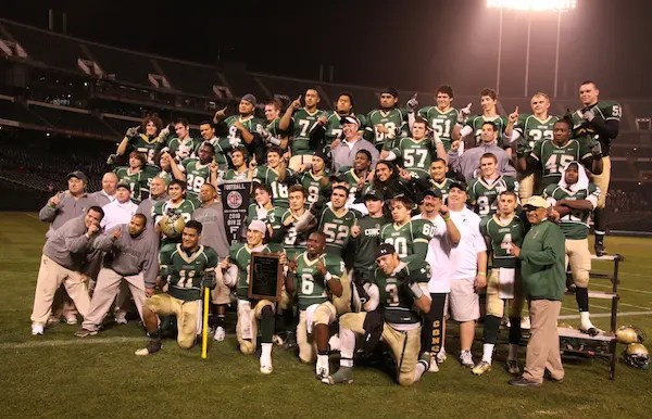 Concord Football, NCS Championship