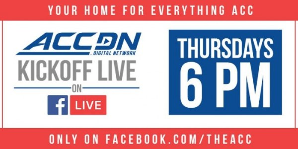 The ACC Digital Network Facebook Shows Debut, College ...