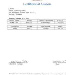 ostarine mk2866 certificate of analysis