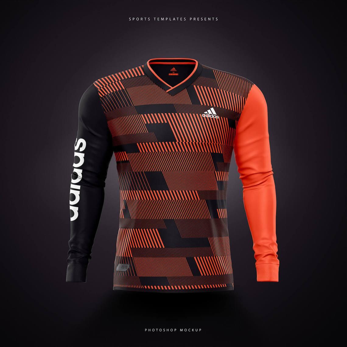 Download Football, Soccer jersey builder template V.2 - Sports ...