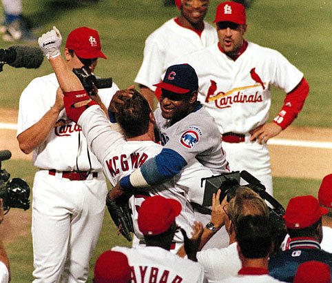 Image result for sosa mcgwire 1998