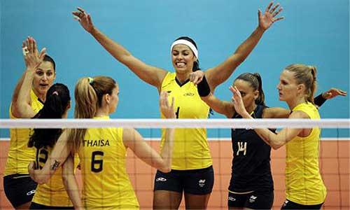 Brazil's volleyball teams big favorites ...