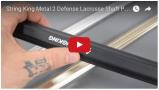 String King Metal 2 Defense Lacrosse Shaft