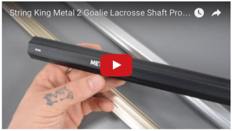 String King Metal 2 Goalie Lacrosse Shaft