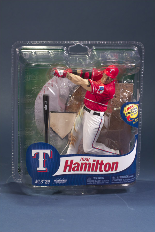 Josh Hamilton Red Jersey Chase Figure