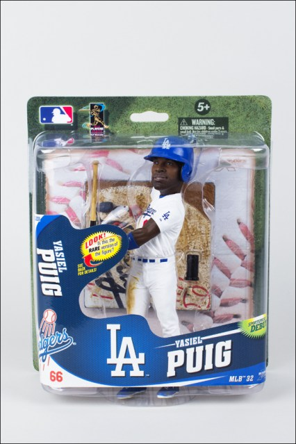 Yasiel Puig Big Head with White Jersey (Collector's Level Bronze)
