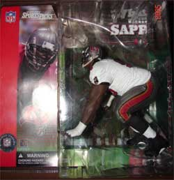 Clean White Jersey Tampa Bay Buccaneers Figure
