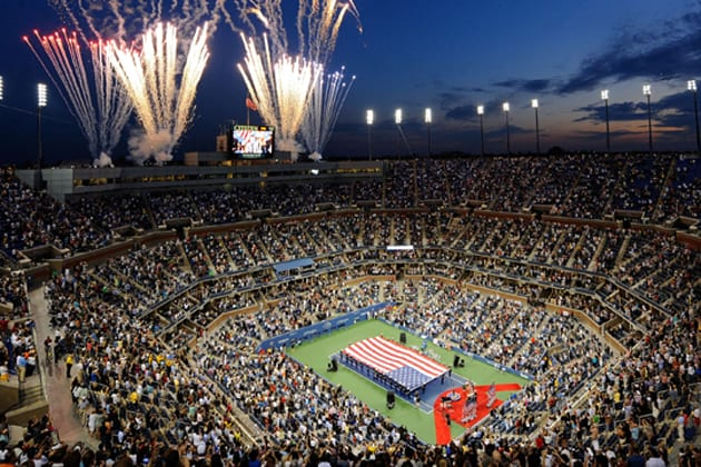 estadio arthur ashe superficie