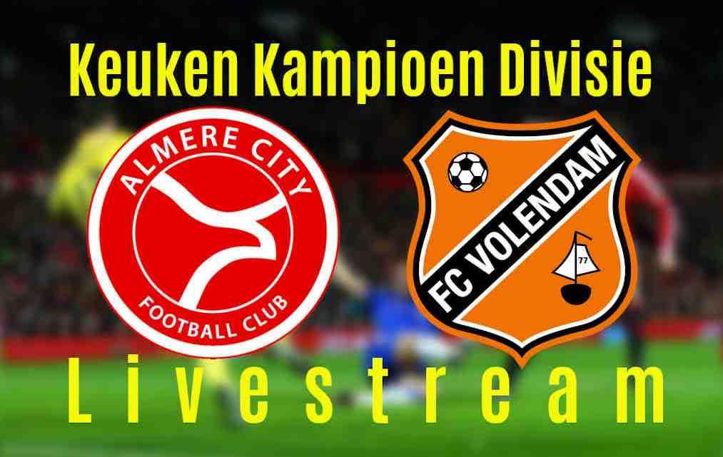 Livestream Almere City - FC Volendam