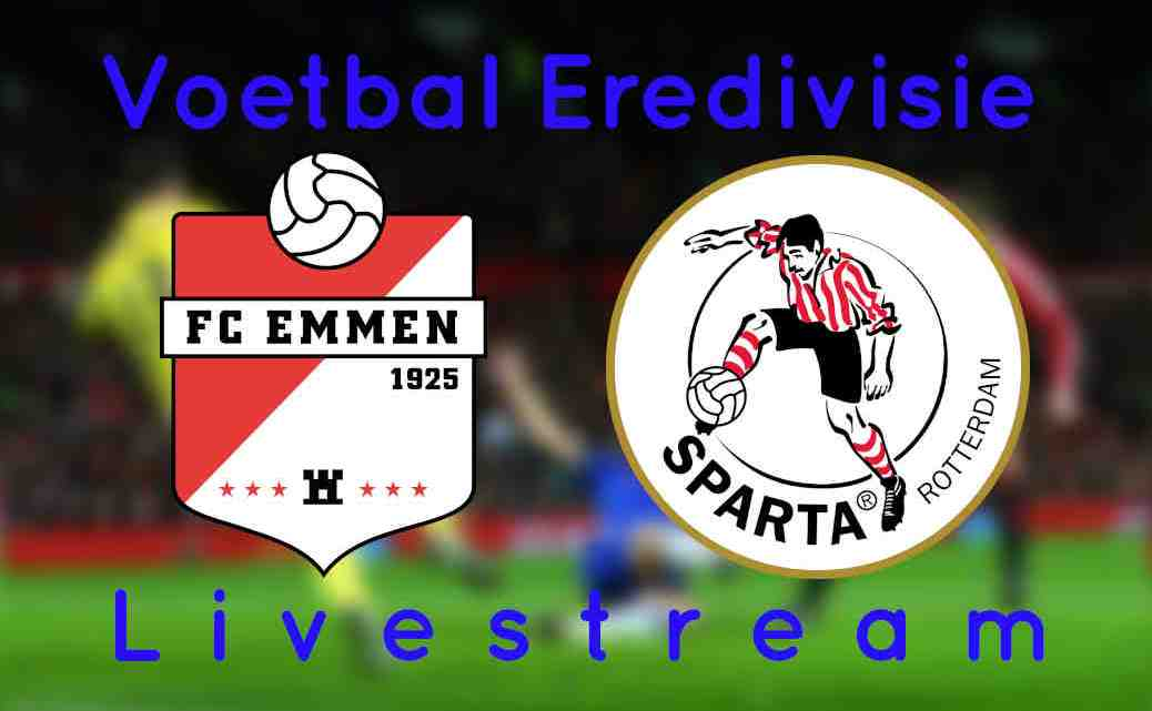 Livestream FC Emmen - Sparta