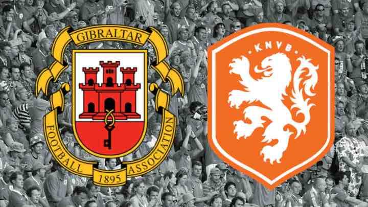 Livestream WK Kwalificatie Gibraltar - Nederland
