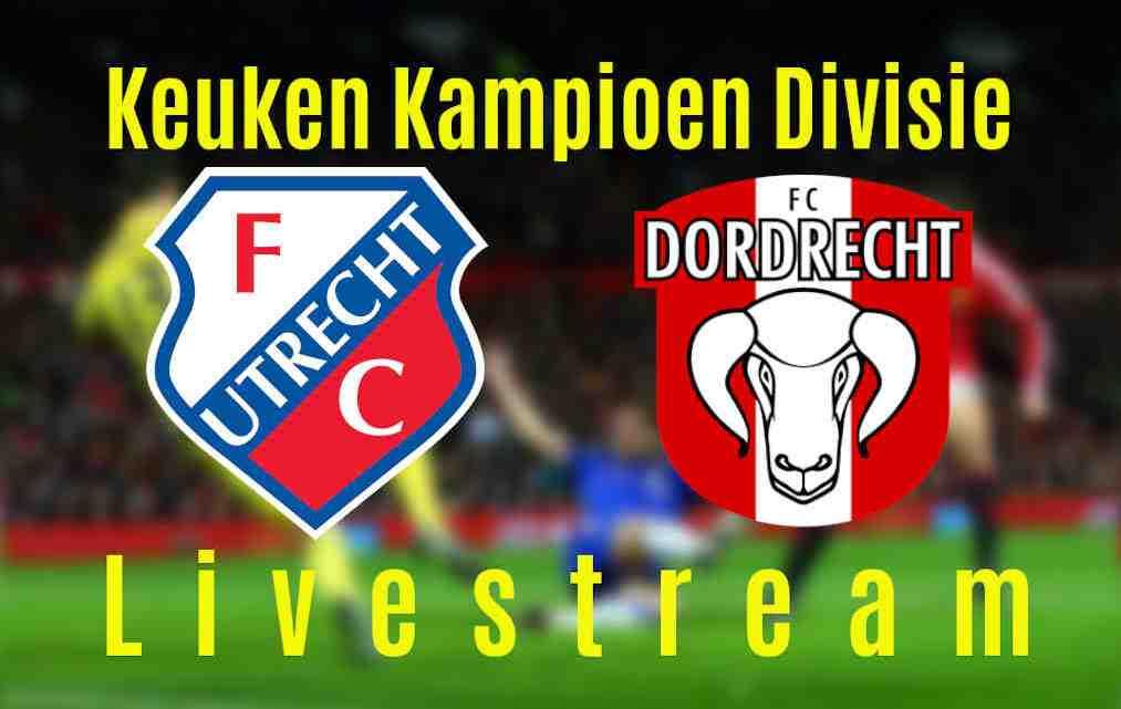 Livestream Jong FC Utrecht - FC Dordrecht