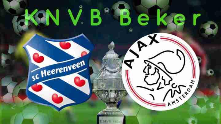 Livestream KNVB Beker SC Heerenveen - Ajax