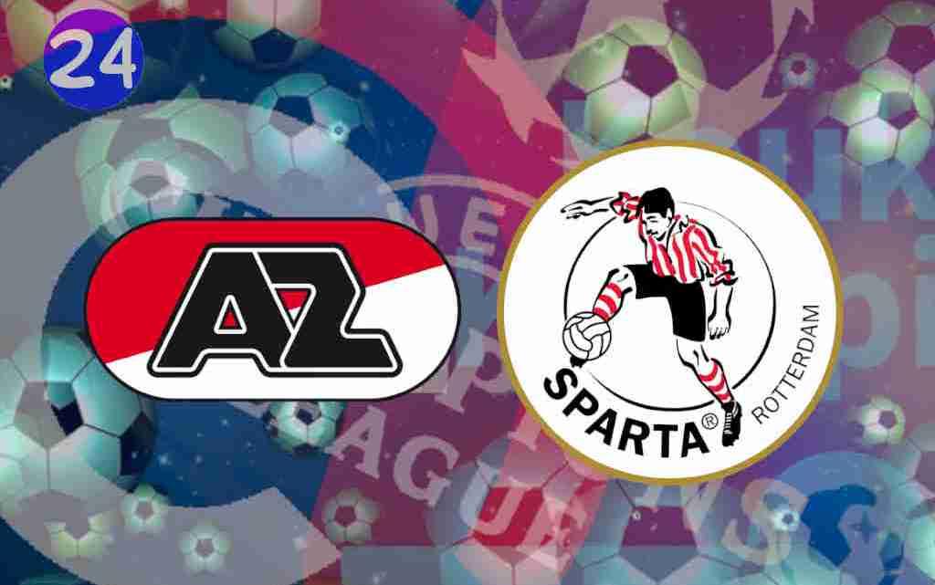 Livestream AZ Alkmaar - Sparta