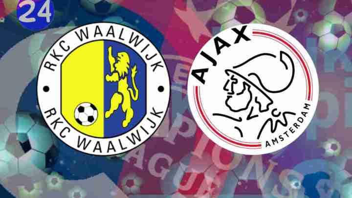 Livestream RKC Waalwijk - Ajax