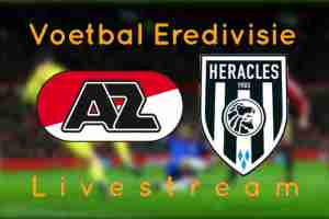 AZ Alkmaar - Heracles Almelo Livestream
