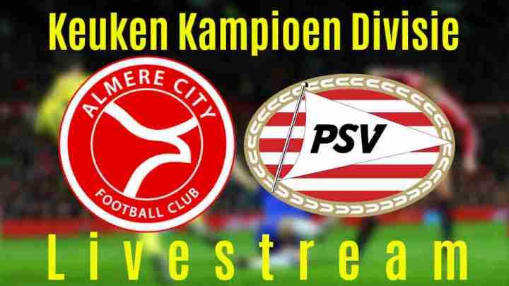 Livestream Almere City - Jong PSV