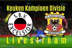 Livestream Excelsior - Go Ahead Eagles