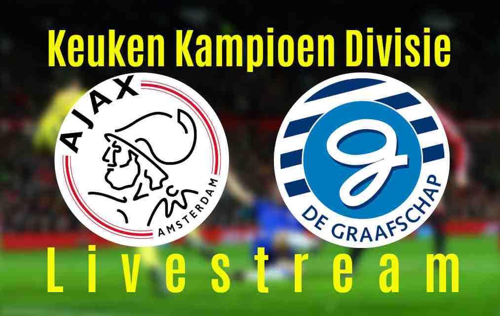 Livestream Jong Ajax - De Graafschap