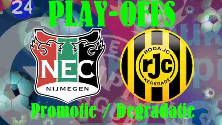 Livestream Play-Offs NEC - Roda JC