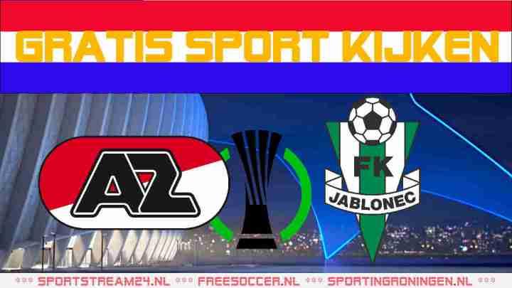 Livestream AZ vs FK Jablonec