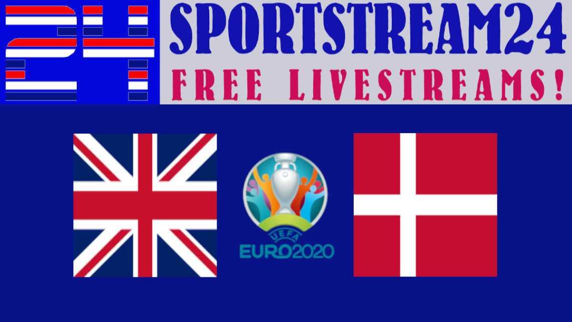 Livestream Engeland - Denemarken