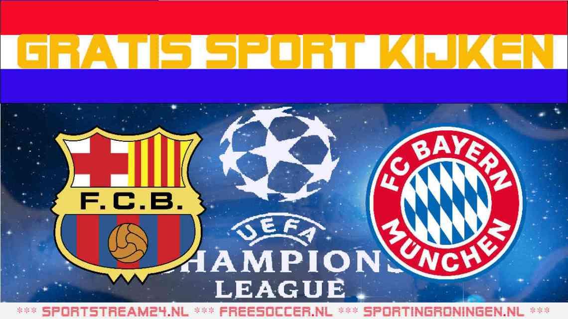 Livestream FC Barcelona vs FC Bayern München