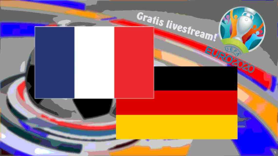 Livestream Frankrijk - Duitsland